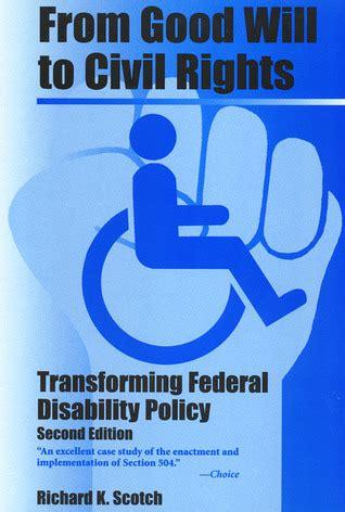 good   civil rights transforming federal
