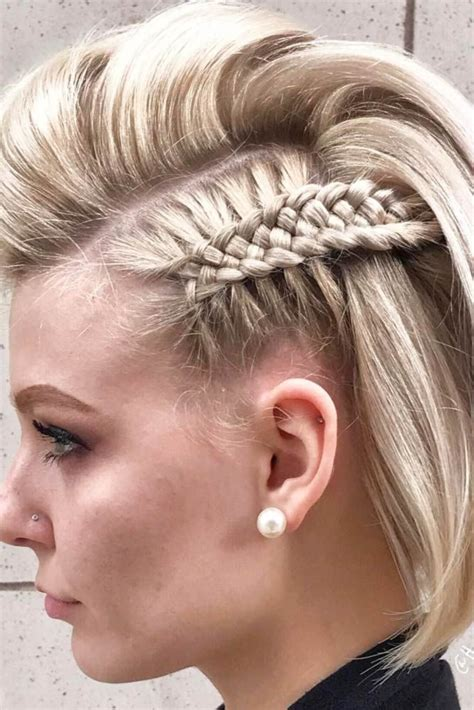 Quick braid styles 2018 for women: 17 Braided Hairstyles for Short Hair - Look More Beautiful With This Haircuts - Haircuts ...