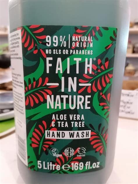 Faith in nature šķidrās ziepes ar alveju un tējas koka ēterisko eļļu 500ml - Mana auguma ...