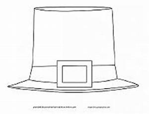 leprechaun hat template printable - st patricks day coloring pages