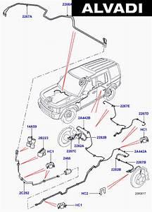 Land Rover Europe Rear Brake Pipes
