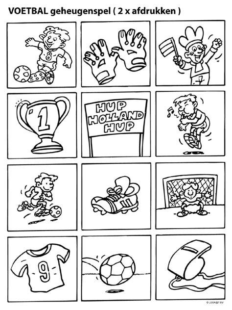 Kleurplaten Voetbal Rode Duivels by Kleurplaat Geheugenspel Ek Voetbal Kleurplaten Nl De