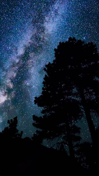Sky Night Dark Star Iphone Nature Plus