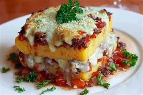 cuisine polenta polenta lasagna recipe the daring gourmet