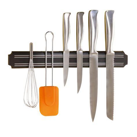 vaisselle et ustensiles de cuisine barre magnétique porte couteaux 38 cm