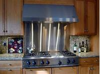 stainless steel backsplash panel Backsplashes & Wall Panels - Brooks Custom