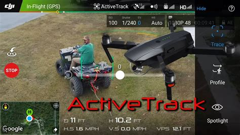dji mavic pro active track part deux tracking