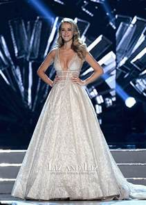 Pageant Evening Gown Miss USA Olivia Jordan 2015