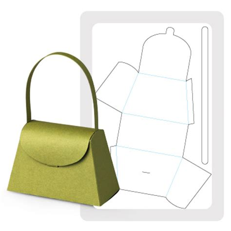 Handbag Gift Box Template by 15 Large Paper Purse Template Images Paper Purse