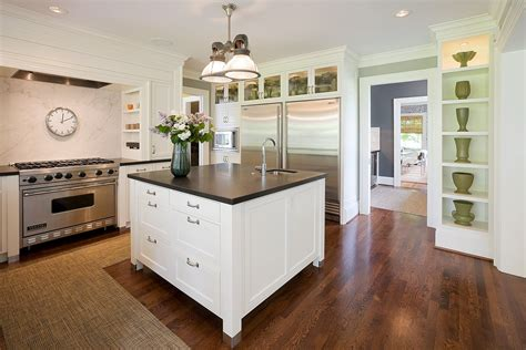 Ideas For Kitchen Islands With Seating - tips to design white kitchen island midcityeast