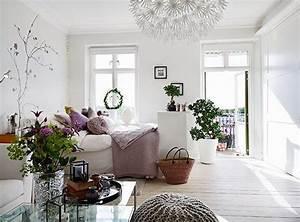 Aménagement Petit Appartement : inspirations d co pour un petit appartement am nagement ~ Nature-et-papiers.com Idées de Décoration