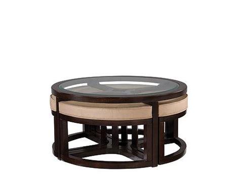 glass ottoman coffee table juniper glass coffee table and ottomans coffee tables