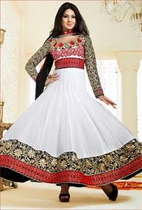 Elegant Off White Salwar Kameez | Vivaah Fashions