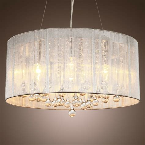 drum chandeliers new drum shade ceiling chandelier pendant light