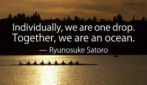 14 Teamwork Quo... Strength And Teamwork Quotes