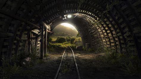 tunnel  ultrahd wallpaper wallpaper studio