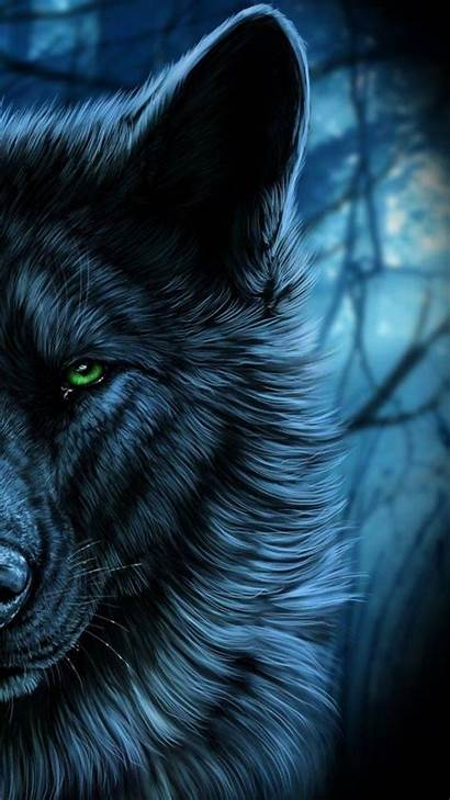 Wolf Wallpapers Eyes Majestic Galaxy Iphone Spirit