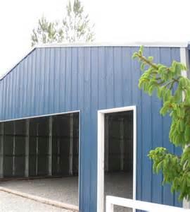 Sheet Metal Storage Building