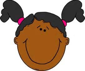 Cartoon Girl Face Clip Art