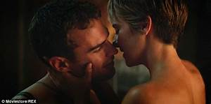 Theo James discusses on-screen chemistry with Shailene ...