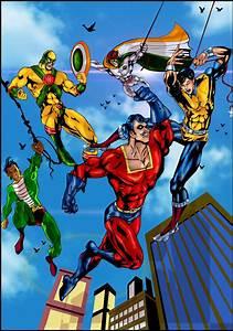 Superhero, Artwork, Superhero, Page