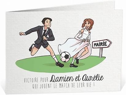 Mariage Faire Football Humoristique Humour Dessin Crampons