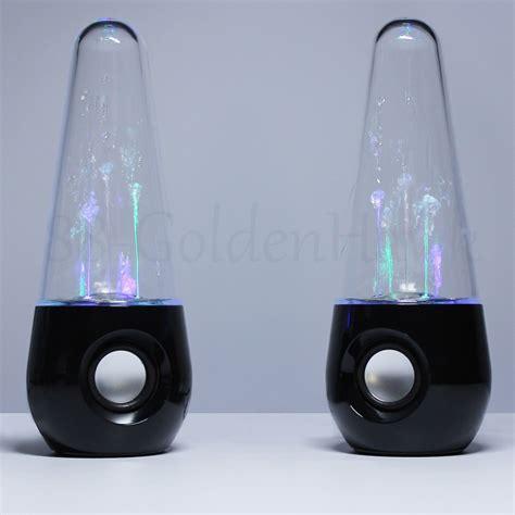 usb led light tube speaker a pair usb led light dancing water show speakers music for
