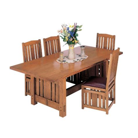stickley inspired dining table downloadable plan