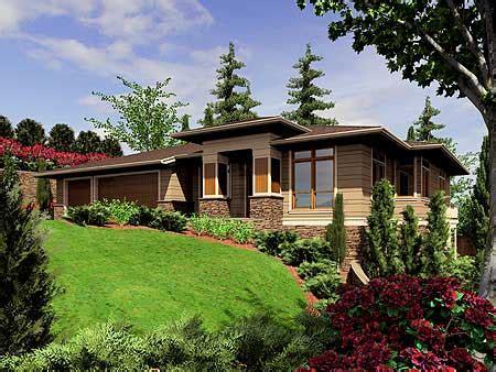 prarie style homes plan w6966am modern prairie style home plan e