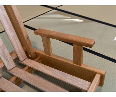 futon divano divano letto in legno artigianale con futon salice