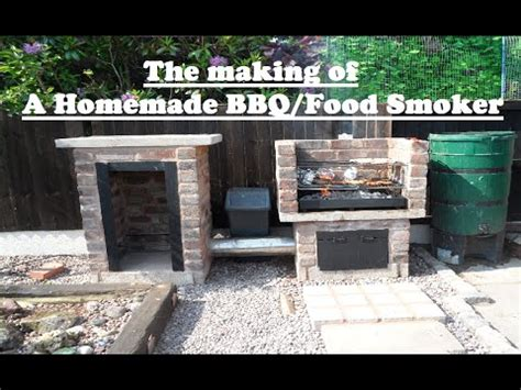 outdoor bbq kitchen ideas food smoker bbq the of