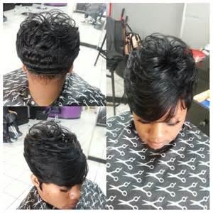 Short Black Hairstyles Sew In