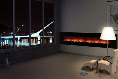 large electric fireplace modern flames