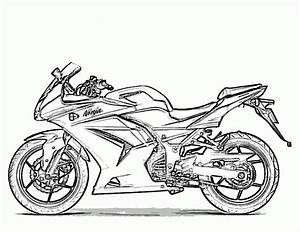 free printable motorcycle coloring pages for kids With honda bikes street
