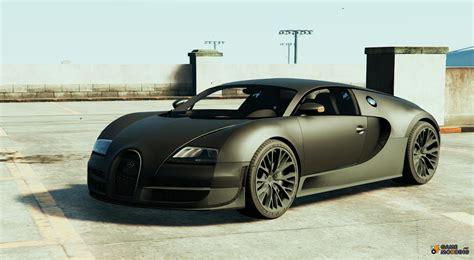 Bugatti Veyron Super Sport For Gta 5