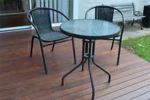 ikea cafe set outdoor dining table and 2 chairs ebay