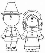 Pilgrim Coloring Pages Thanksgiving Printable Pilgrims Clip Clipart Template Cartoon Templates Characters Cliparts Simple sketch template