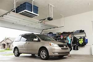 Rangement Plafond Garage : espace garage accroo rangement efficace ~ Melissatoandfro.com Idées de Décoration
