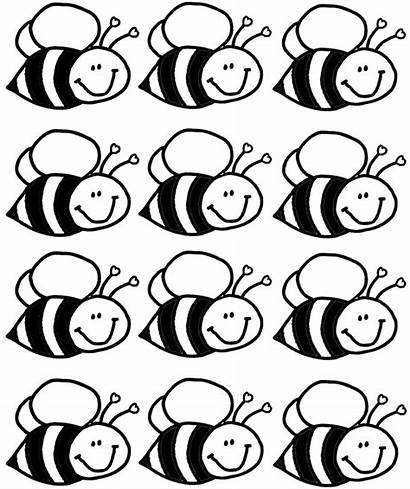 Bee Coloring Pages Crafts Bees Preschool Worksheets