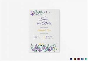 garden save the date card template in psd word publisher With publisher save the date templates