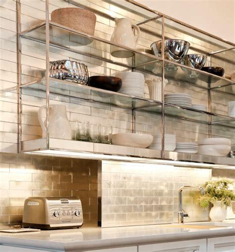 stainless shelves industrial kitchen pinterest i love the industrial chic stainless shelves kind of