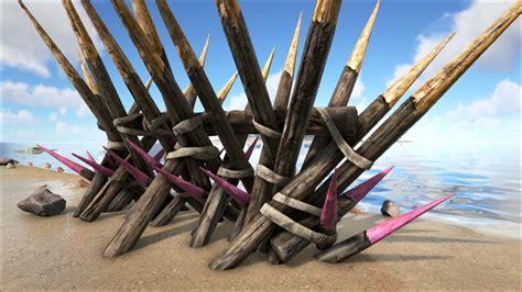 Cartoon Billboard wooden spike wall official ark survival evolved wiki 1920 x 1080 · jpeg