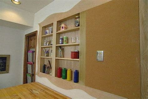 Individual Wall Shelves by Build Individual Wood Cabinets Or Open Shelves Between