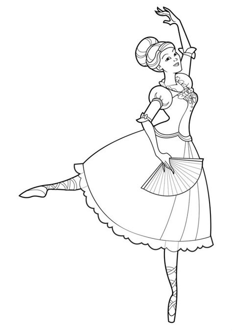 printable ballet coloring pages  kids