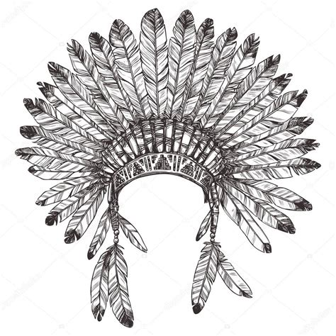 Indian Headdress Template by Fancy Clothes Coloring Pages Coloring Pages