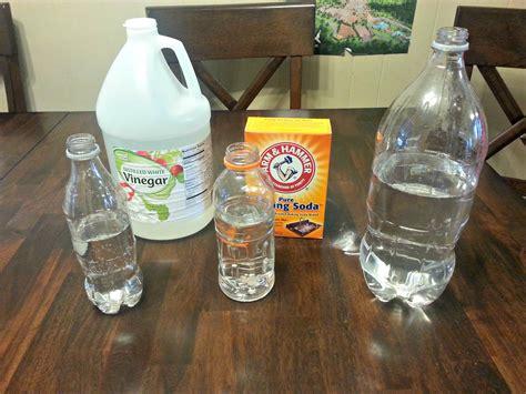 vinegar and water baking soda vinegar volcano popflyboys