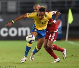 Pierre-Emerick Aubameyang is the totem of Gabon's team and ...