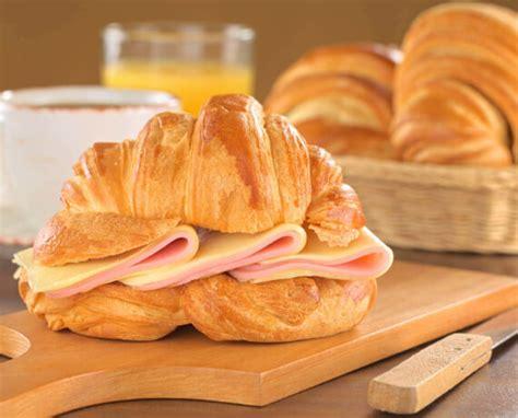 schnell einfach croissant mit schinken und kaese lidl