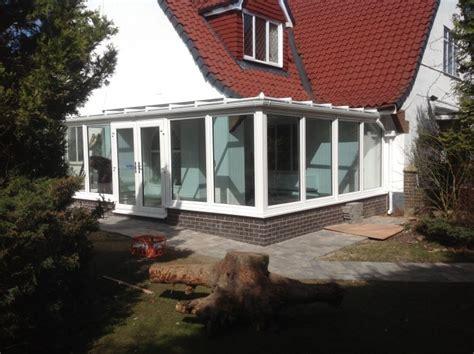 flat roof designed conservatory installed basfords