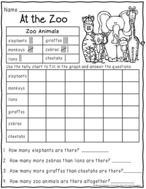 zoo worksheets 1st grade 29 best zoo images on